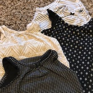 Other - 4 sleeveless onesies and romper